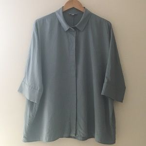 COS Draped Wide Fit Shirt